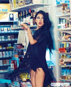 Lee Hyori - Cosmopolitan Magazine June 2013 1