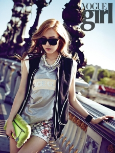 SNSD Jessica - Vogue Girl Magazine June Issue '13 8