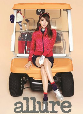 After School Uee - Allure Magazine September Issue '13 8