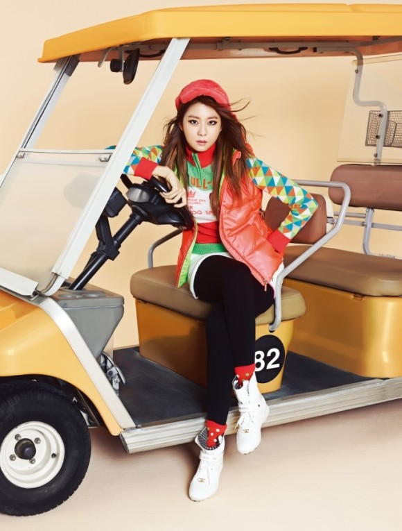 After School Uee - Allure Magazine September Issue '13