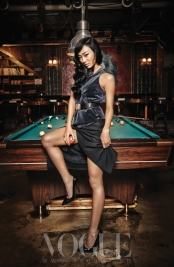 Sistar Hyo Rin - Vogue Magazine August Issue '13 2