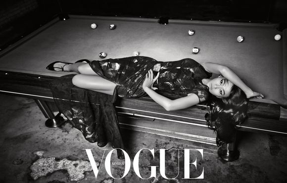 Sistar Hyo Rin - Vogue Magazine August Issue '13 5