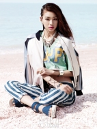 Jung Ho Yeon Vogue Girl Magazine April 2013 (2)