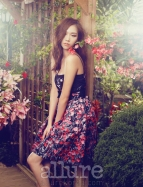 Kim Won Kyung Floral Allure Magazine April 2013 (4)