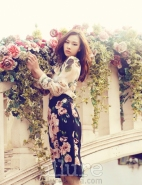 Kim Won Kyung Floral Allure Magazine April 2013 (7)