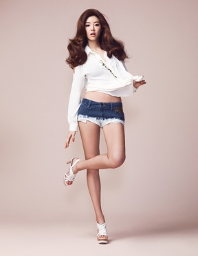 Park Han Byul - W Magazine May Issue 2013