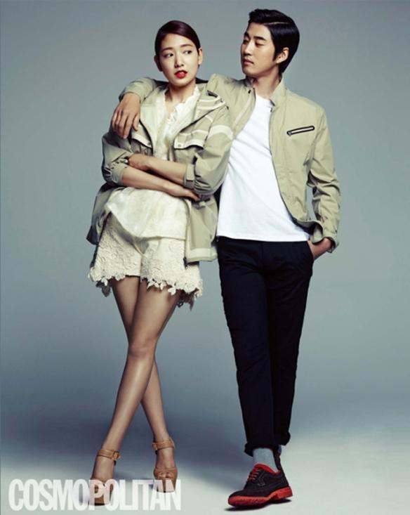 Park Shin Hye, Yoon Kye Sang and Kim Ji Woon - Cosmopolitan Magazine May 2013 2