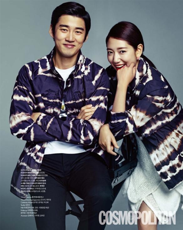 Park Shin Hye, Yoon Kye Sang and Kim Ji Woon - Cosmopolitan Magazine May 2013